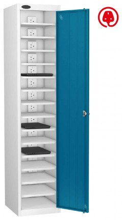 Laptop Charging Locker 15 Capacity - Probe Lapbox 15CH - blue