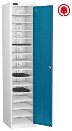 Laptop USB Charging Locker 15 Capacity - Probe Lapbox 15CH - blue