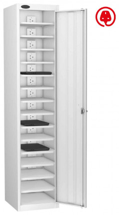 Laptop USB Charging Locker 15 Capacity - Probe Lapbox 15CH - white