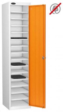 Probe Lapbox 15ST Laptop Storage Locker 15 Compartments - orange