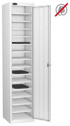 Probe Lapbox 15ST Laptop Storage Locker 15 Compartments - white