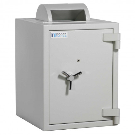 Dudley Europa 10000 Rotary Deposit Security Safe Size 2 - door closed