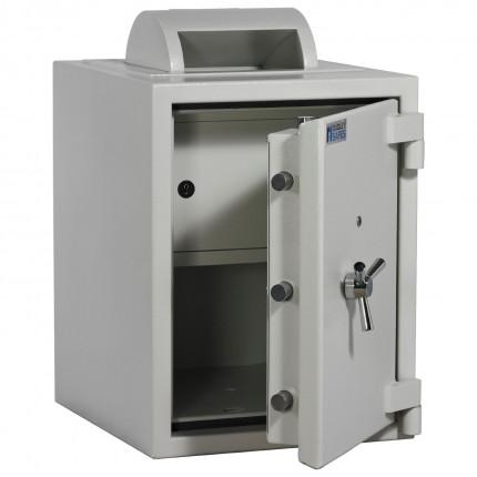 Dudley Europa 17500 Rotary Deposit Security Safe Size 3 - door ajar