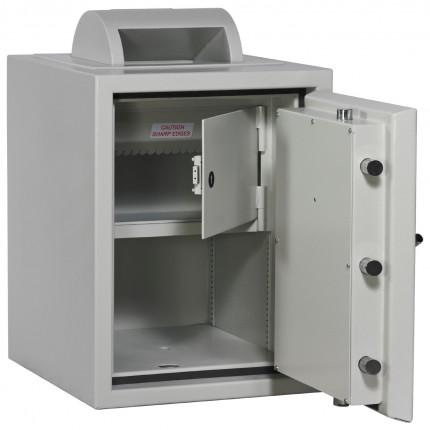 Rotary Deposit Safe £6000 - Dudley Eurograde 0 Size 2 - optional coffer