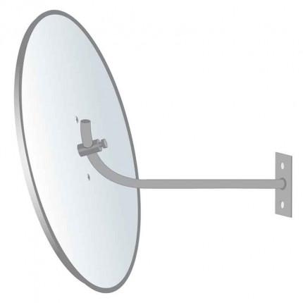 Securikey Econovex Interior Convex Mirror 500mm wall bracket