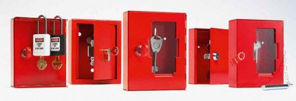 Group of Key Access Boxes