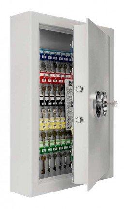 Securikey High Security 100 Hook Wall Mounted Key Storage Safe