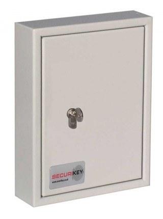 Securikey Key Vault KV030 Key Cabinet Euro Key Lock 30 Keys