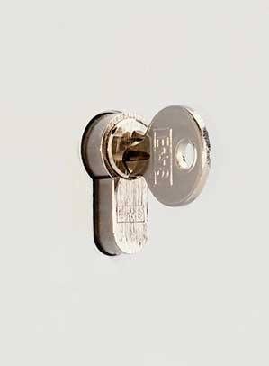 Securikey Key Vault KVD200 Deep Cabinet with Euro Lock close up