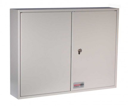 Securikey Key Vault KVD200 Deep Cabinet Euro Lock 200 Keys - Closed