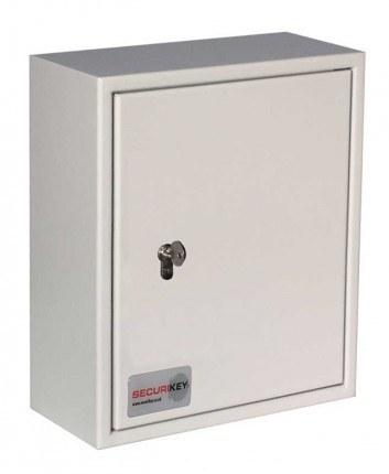 Securikey Key Vault KVP028 Cabinet Euro Lock 28 Key Bunches - door closed