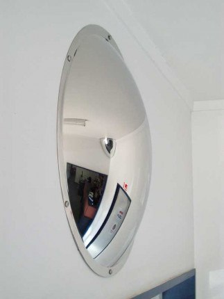 Securikey Stainless Steel Anti-Vandal 500mm Wall Dome Mirror