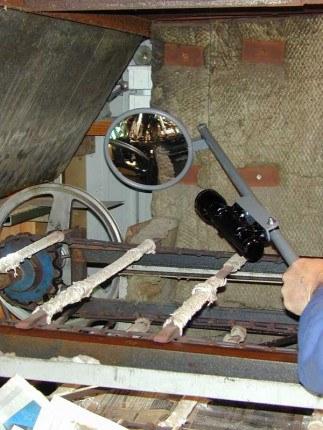 Securikey Portable Convex Inspection 150mm Mirror