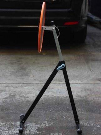 Two Part Portable MOT Convex Inspection Mirror Set - Securikey M20240S
