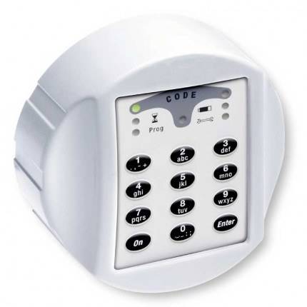 Securikey Key Vault KVD100 Deep Cabinet Electronic Lock Close Up