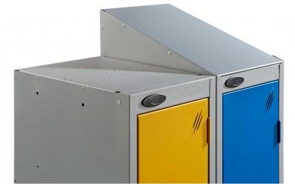 Sloping Top option for Probe 16 tier locker