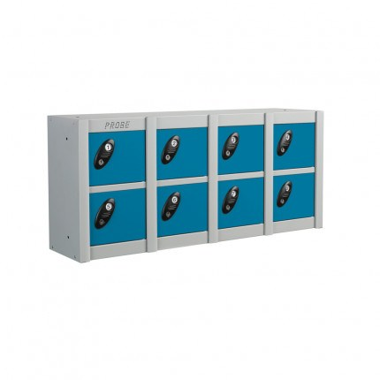 Probe Minibox 8 door Mobile Phone Wall/Stacking Locker 8 Doors