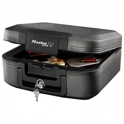 Master Lock LCHW20101 Waterproof Fire Resistant Document Chest