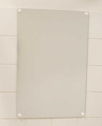 Flat Frameless Safety Vanity Mirror 40x60cm - Vialux 4600PLS