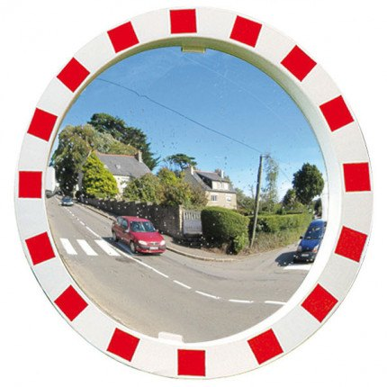 Vialux Convex Wide Angle Traffic Mirror Polymir 600mm