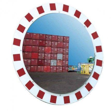 Vialux 886-SS Stainless Steel Traffic Mirror 1000 Diameter