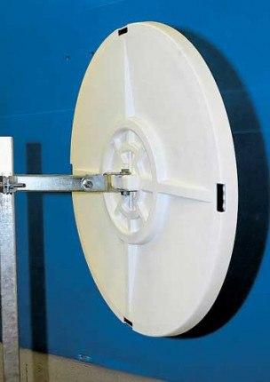 Vialux 9060 Blindspot Convex Mirror 600mm Diameter rear view