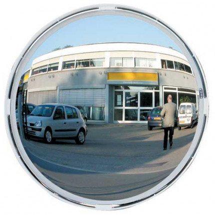 Vialux 9060 Blindspot Convex Mirror 600mm Diameter face on