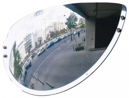 Wide Angle Mirror from a pedestrian angle