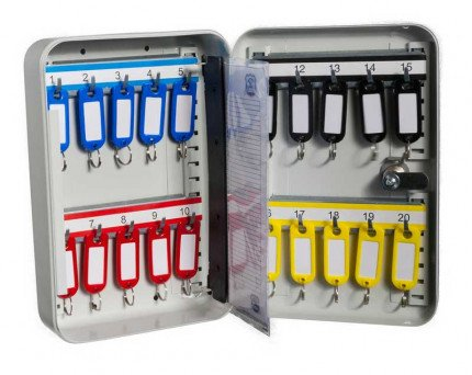 Safe Saver Key Systems Cabinet 20 hooks Combination open