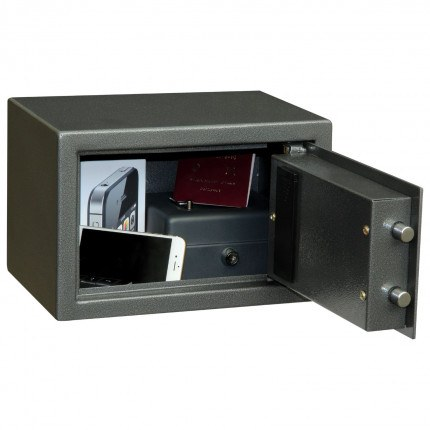 Phoenix Rhea SS0101E fully open showing capacity of safe