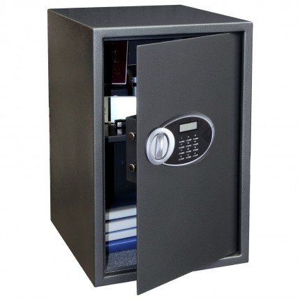 Phoenix Rhea SS0104E Electronic Audit Laptop Safe slightly open