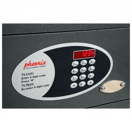 Phoenix Dione SS0311E close up of keypad