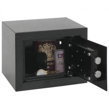 Phoenix SS0721K Compact Home Office Safe - door open
