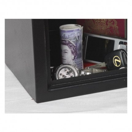 Phoenix SS0721K Compact Home Office Safe - interior view