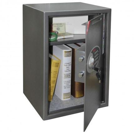 Phoenix Vela SS0804ED open showing capacity of safe