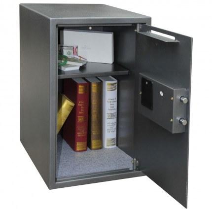 Phoenix Vela SS0805ED fully open showing capacity of safe
