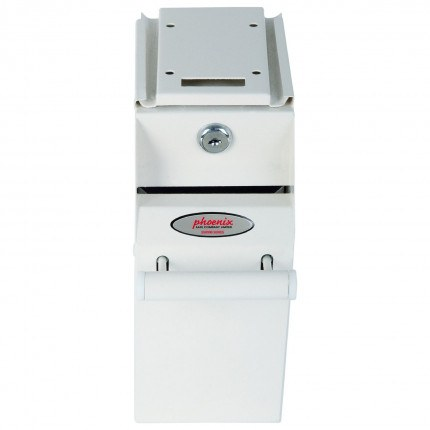 Front view of Phoenix Under Counter Deposit Safe SS0991KD