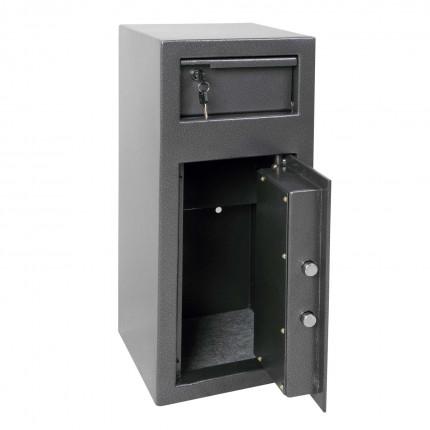 Phoenix SS0992K Cash Day Deposit Safe door open