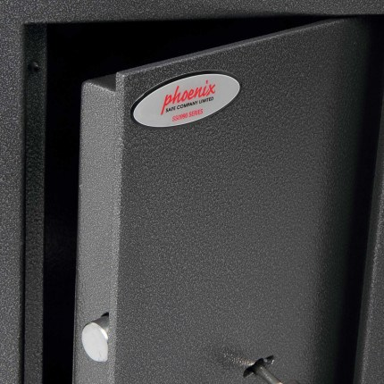 Phoenix SS0992E Electronic Cash Day Deposit Safe door detail