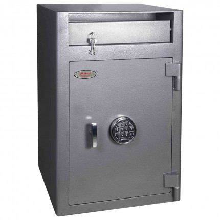 Electronic Deposit Safe - Phoenix Cashier SS0998ED - Doors Closed