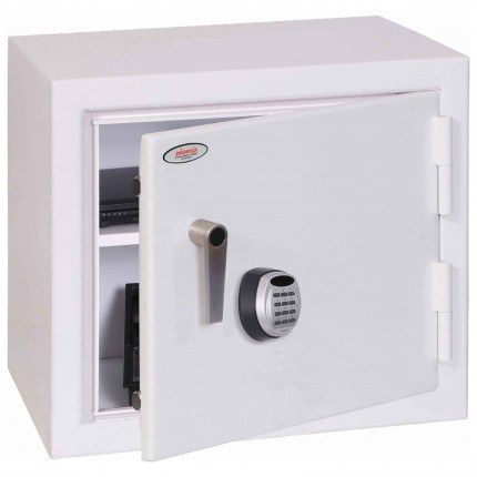 Securestore SS1161E Electronic Retail Security Safe - door ajar