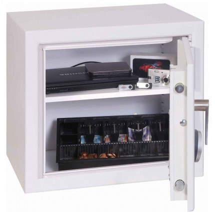 Securestore SS1161E Electronic Retail Security Safe - Door open