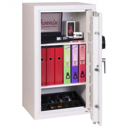 Phoenix Securestore SS1162F Retail Security Safe Fingerprint Locking - Door open