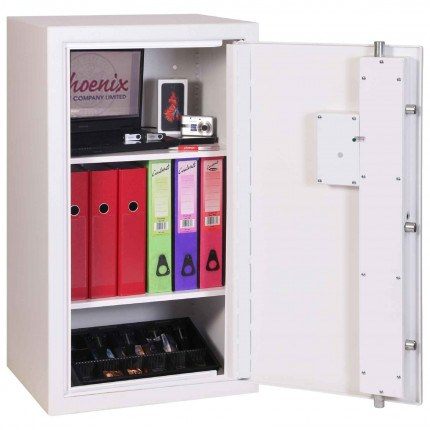 Phoenix Securestore SS1162F Retail Security Safe Fingerprint Locking - interior
