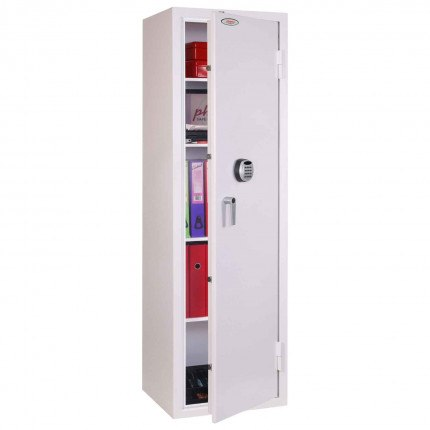 Phoenix Securestore SS1164E Retail Security Safe Electronic - door ajar