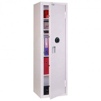 Phoenix Securestore SS1164F Retail Security Safe Fingerprint Locking - door ajar
