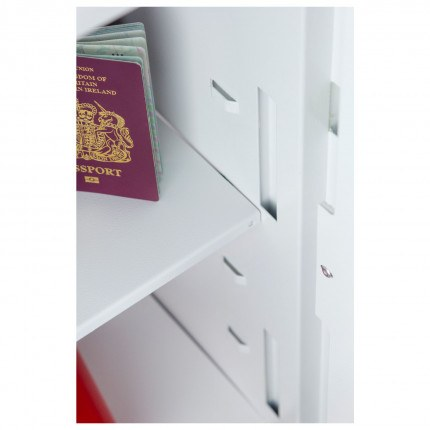 Close Up of shelving racks for Phoenix Fortress Security Safe SS1183K