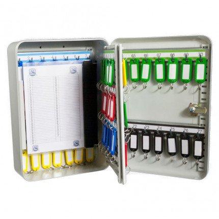 Safe Saver SS77E Key Storage Cabinet Electronic Locking 77 Keys with key control card