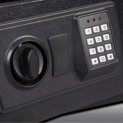 Burton Standard MK2 Electronic Hotel Safe Size 2 Keypad close up