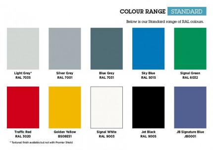 Bedford Standard Colour Range